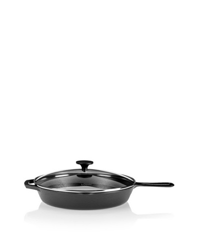Lodge Pre-Seasoned Cast Iron Skillet with Glass Lid