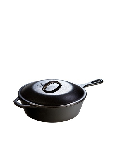 Lodge Logic Pre-Seasoned Cast Iron Covered Chicken FryerAs You See