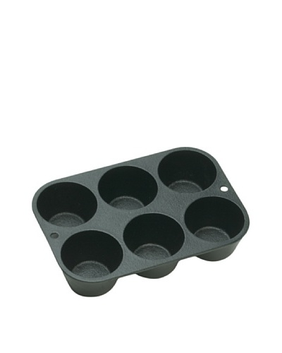 Lodge Logic Pre-Seasoned Cast Iron Muffin Pan, 5.25 x 7.5As You See