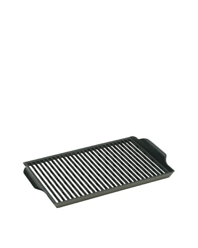 "Lodge Logic Pre-Seasoned Cast Iron Barbecue Grill/Grate, 11"" x 15"""