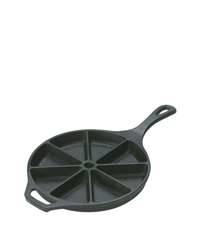 Lodge Logic Pre-Seasoned Cast Iron Cornbread Wedge Pan, 9