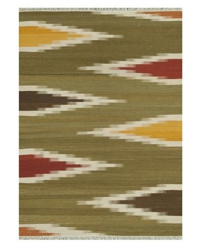 Loloi Rugs Santana Hand-Woven Wool Rug [Green/Multi]