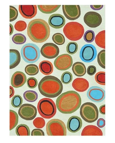 Loloi Rugs Aurora Rug, Ivory/Multi, 2' x 3'