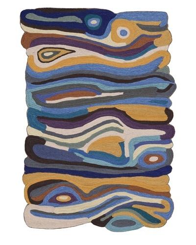Loloi Rugs Jubilee Rug [Sand/Blue]