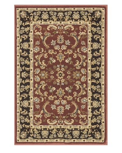 Loloi Rugs Welbourne Rug, Coffee/Paprika, 7' 7 Round
