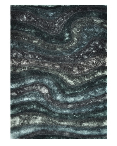 Loloi Rugs Luxury Glamour Shag Rug [Midnight]