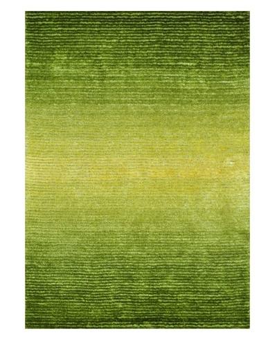 "Loloi Rugs Jasper Shag Rug, Green Glow, 5' x 7' 6"""