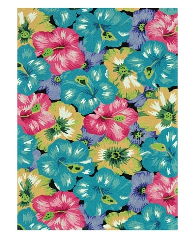 Loloi Rugs Juliana Rug, Blue/Multi, 5' x 7' 6