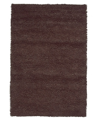 Loloi Frankie Felted New Zealand Wool Rug [Brown]