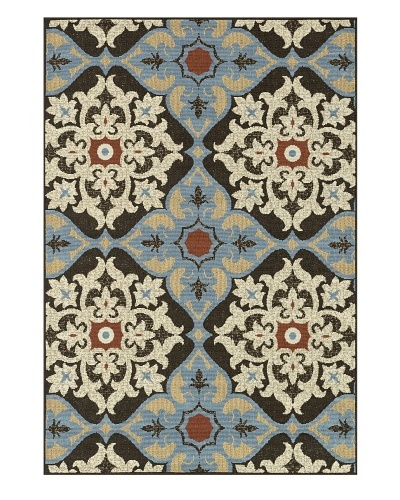 Loloi Rugs Arbor Rug, Chocolate/Multi, 1' 9 x 2' 9