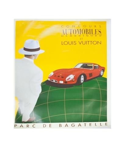 Original Louis Vuitton Man/Red Ferrari, 1995