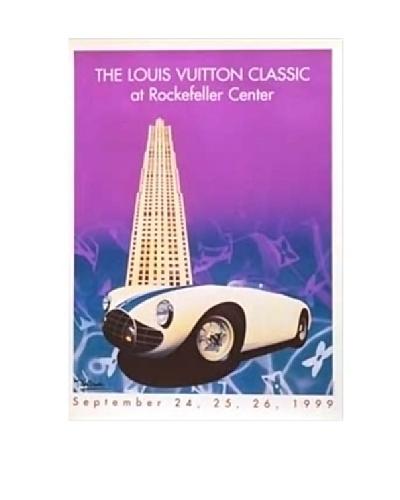Signed Original Louis Vuitton Classic Rockefeller Center, 1999