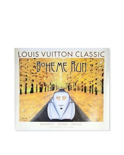 Signed Original Louis Vuitton Classic Boheme Run with Bugatti, 2006