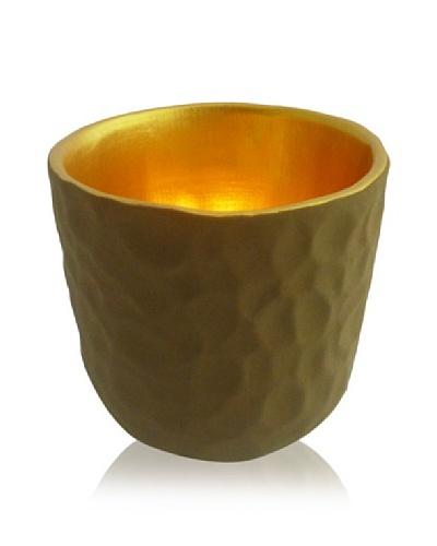 Luminata Studios Om Candle Holder [Earth/Gold]