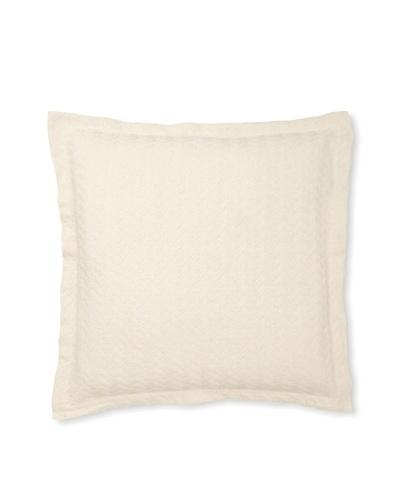 Belle Epoque Sand Grains Pillow, Cream/Grey, 20x20