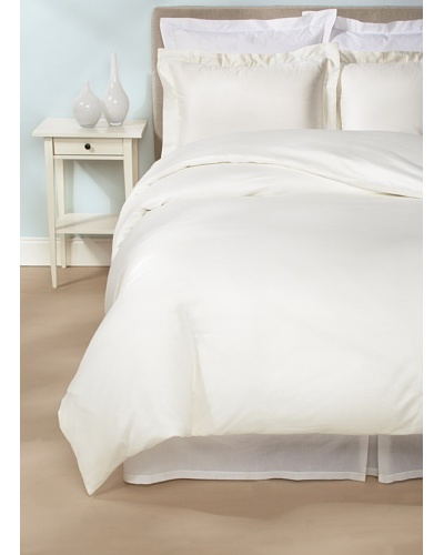 Peacock Alley Ballet Hemstitch Duvet Cover Set