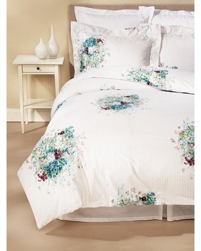 Dea Stripe Bouquet Duvet Cover Set
