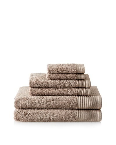 Luxury Suite Supima 6-PieceTowel Set, Sand