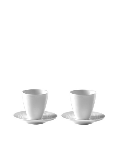 Magppie Brasiliano Set of 2 Cappuccino Cups and Saucers