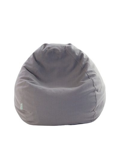 Majestic Home Goods Wales Small Bean Bag, GrayAs You See