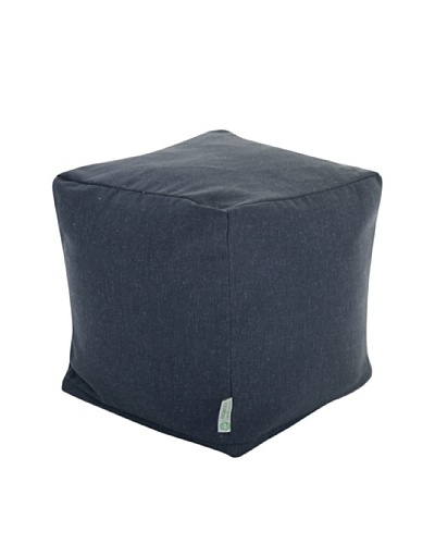 Majestic Home Goods Wales Small Cube, NavyAs You See