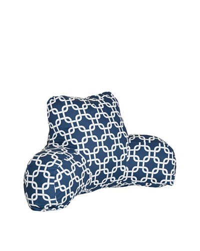 Majestic Home Goods Links Reading Pillow, NavyAs You See