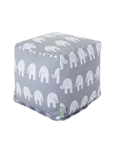 Majestic Home Goods Ellie Small Cube, GrayAs You See