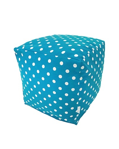 Majestic Home Goods Small Polka Dot Small Cube, OceanAs You See