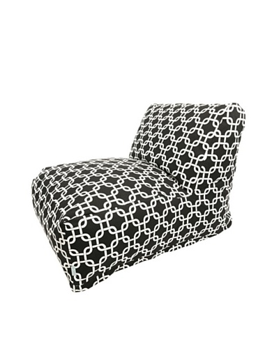 Majestic Home Goods Links Bean Bag Chair Lounger, BlackAs You See