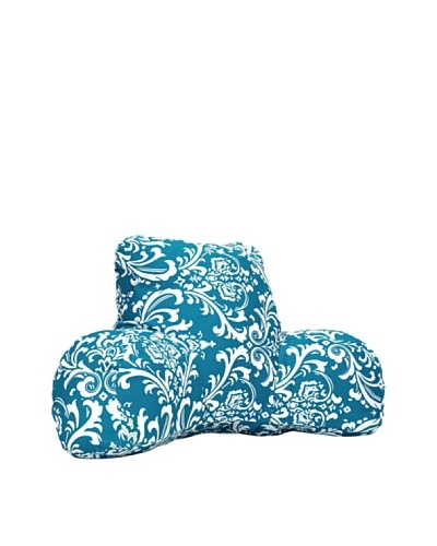 Majestic Home Goods French Quarter Reading Pillow, Ocean