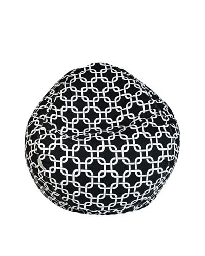 Majestic Home Goods Links Small Bean Bag, BlackAs You See