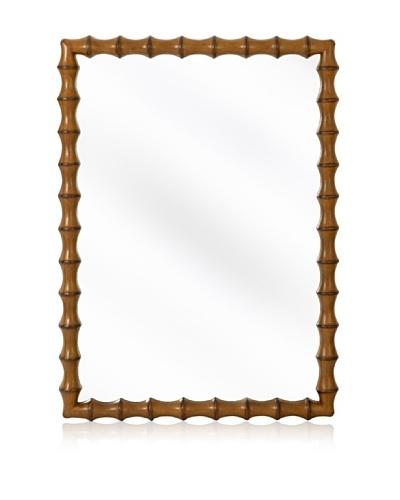 Majestic Mirrors Kuo Mirror [Light Walnut]