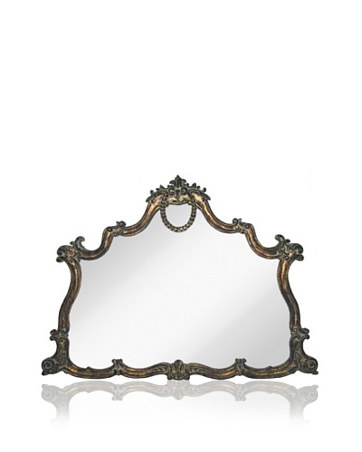 Majestic Mirrors Georgette Mantle Mirror