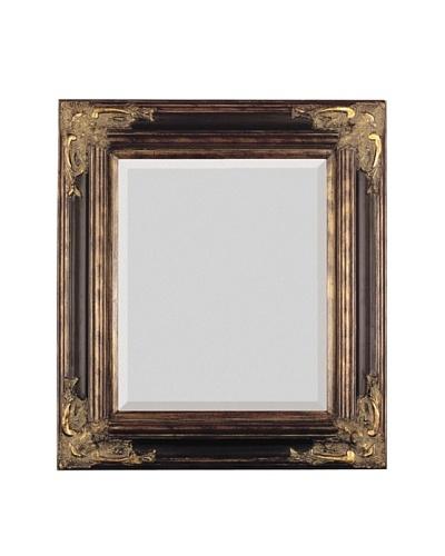 Majestic Mirrors Estate Mirror, Bronze, 48 x 36
