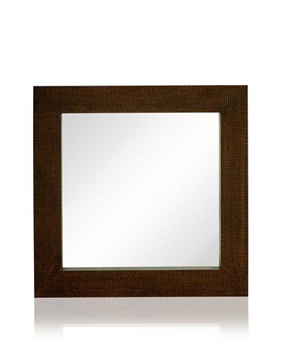 Square Woven Mirror [Bronze]