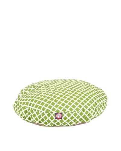 Majestic Pet Bamboo Print Round Pet Bed, Medium, SageAs You See