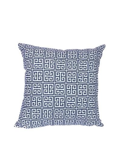 Malabar Bay Greek Key Pillow