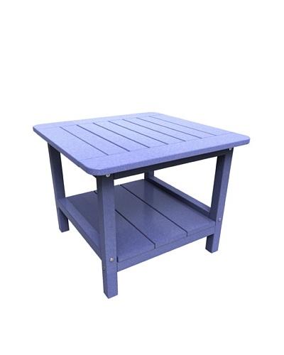 Malibu 24 Square End Table in Sky Blue
