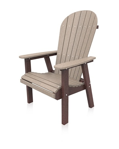 Malibu Jamestown Casual Chair in Sand and Cherry
