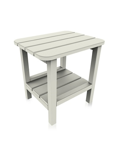 Malibu 15 X 19 End Table in White