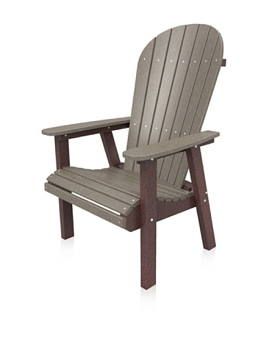 Malibu Jamestown Casual Chair in Weathered Wood and Cherry