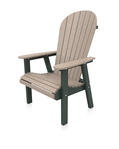 Malibu Jamestown Casual Chair in Sand and Turf Green