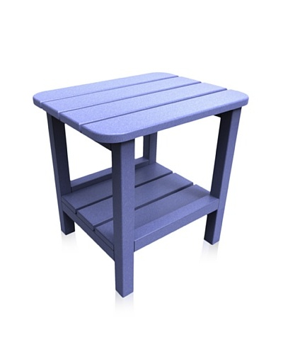 Malibu 15 X 19 End Table in Sky Blue