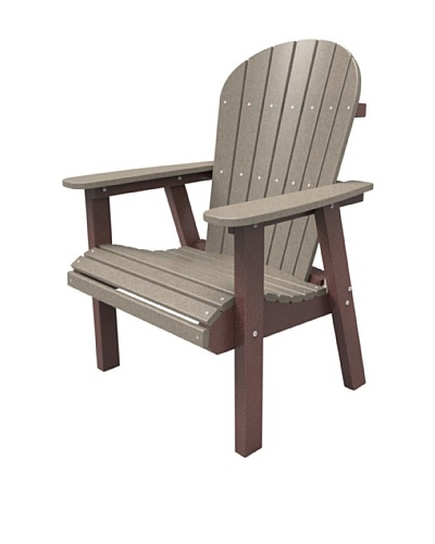 Malibu Jamestown Dining Chair in Weathered Wood and Cherry