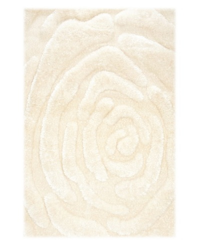 Manhattan Design District Wool Blend Luxury Shag [White]