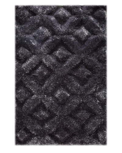 Manhattan Design District Wool Blend Luxury Shag [Grey]