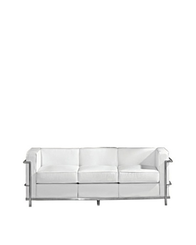 Manhattan Living Cube LC2 Petit Sofa, White