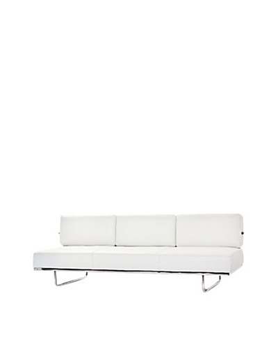 Manhattan Living Flat LC5 Sofa Bed, White