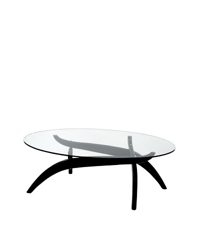 Manhattan Living Spider Coffee Table, Black