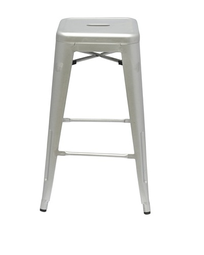 Manhattan Living Talix Counter Stool, Gunmetal